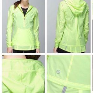 Lululemon light mint spot jacket